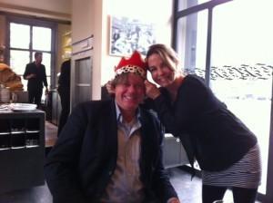 Britt van Capelleveen (MIR2013) kroont Rob van Elburg tot MIR2014