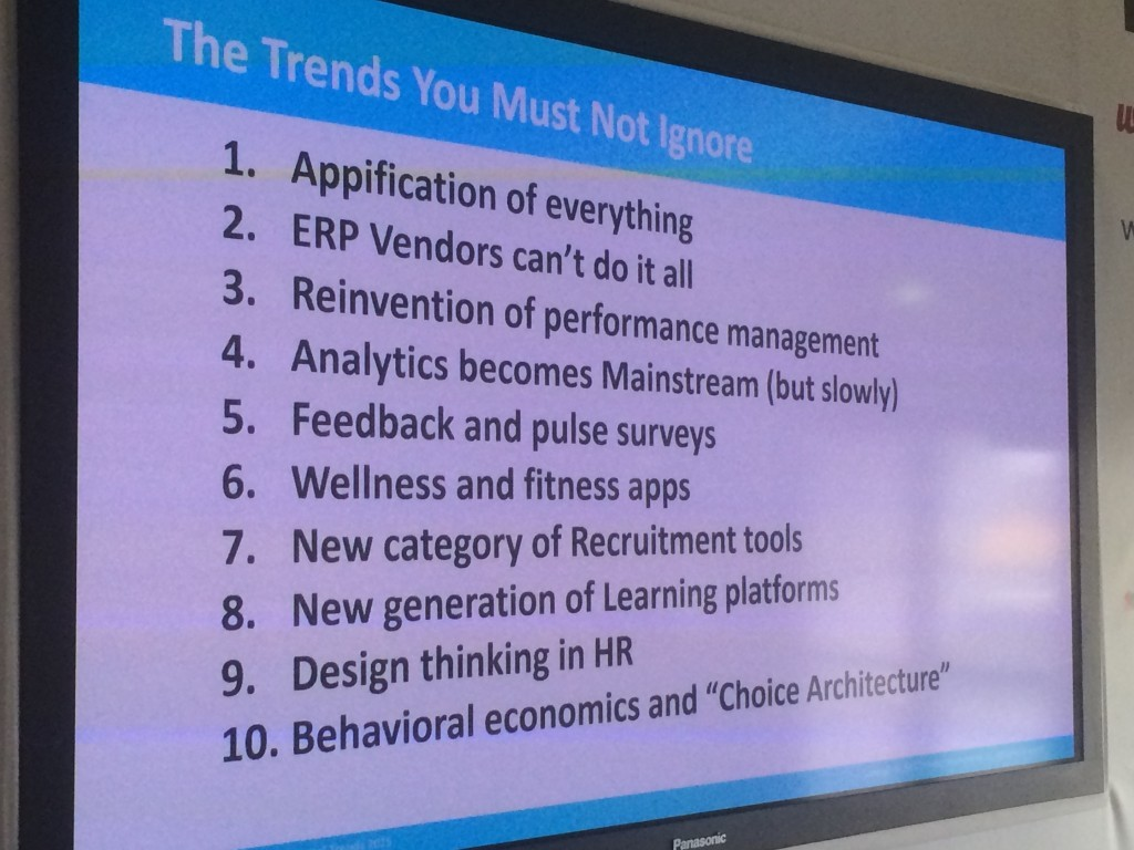 10 HR Recruitment Tech Trends by Josh Bersin