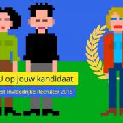 Stem NU op de Meest Invloedrijke Recruiter 2015