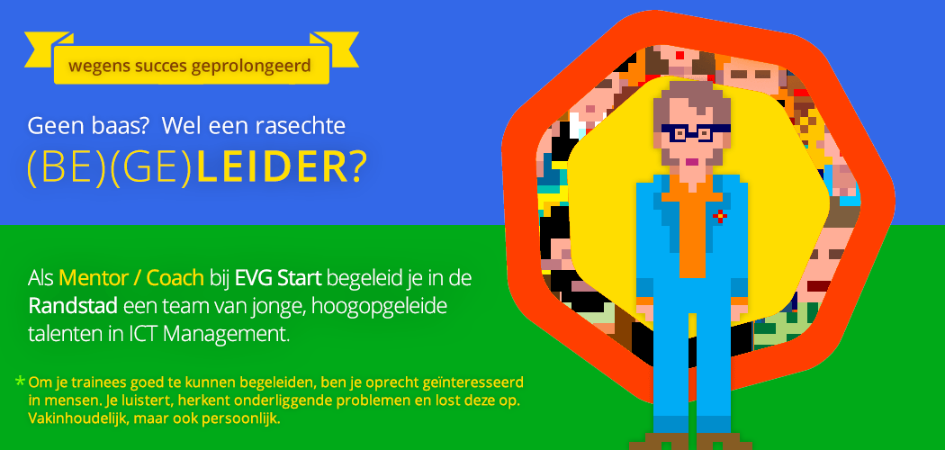 Vacature Coach / Mentor Randstad bij EVG Start