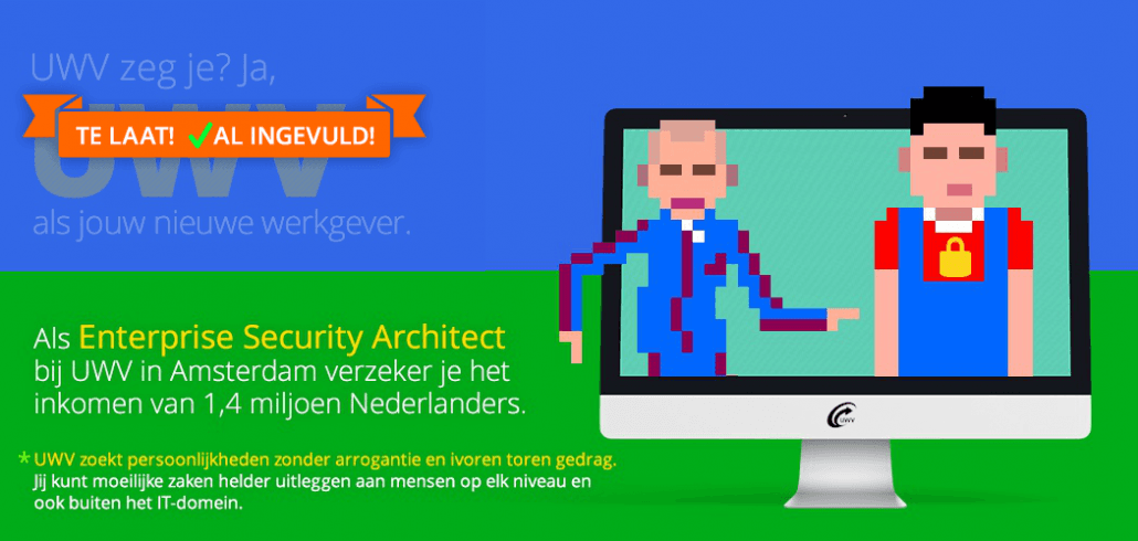 Vacature Enterprise Security Architect