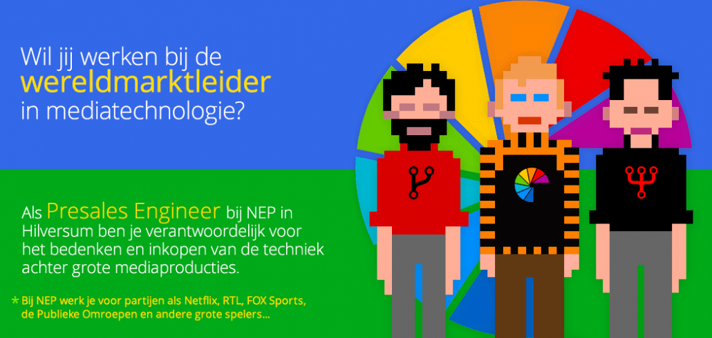 Vacature Presales Engineer NEP 160726