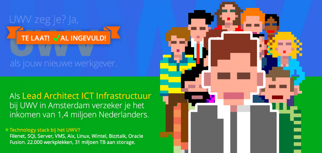 Vacature Lead Architect ICT Infrastructuur vervuld