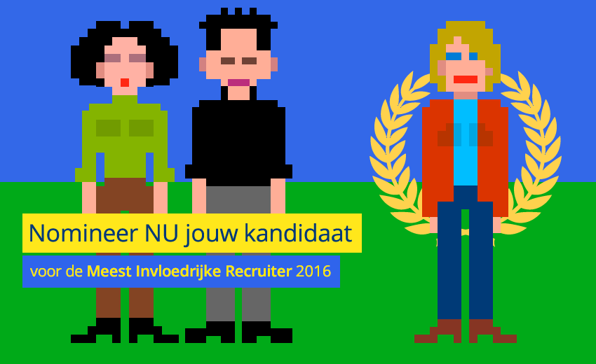 Nomineer NU jouw kandidaat / Nominate your candidate NOW...