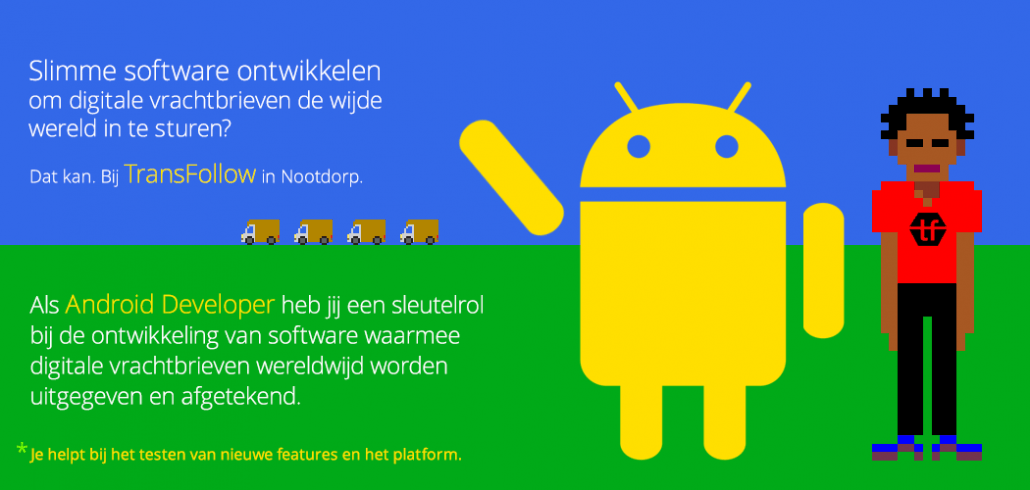 Vacature Android Developer bij TransFollow 170104