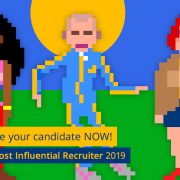 Nominate your candidate for the Most Influential Recruiter 2019 Now!